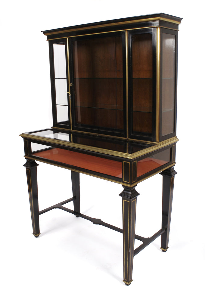 <b>FRENCH DISPLAY CABINET</b><br>CIRCA 1920s</br>