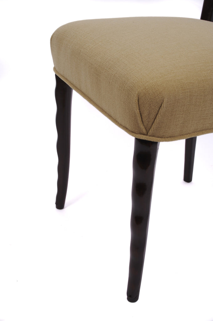 <b>SET OF 6 ITALIAN DINING CHAIRS</b><br>CIRCA 1940s</br>