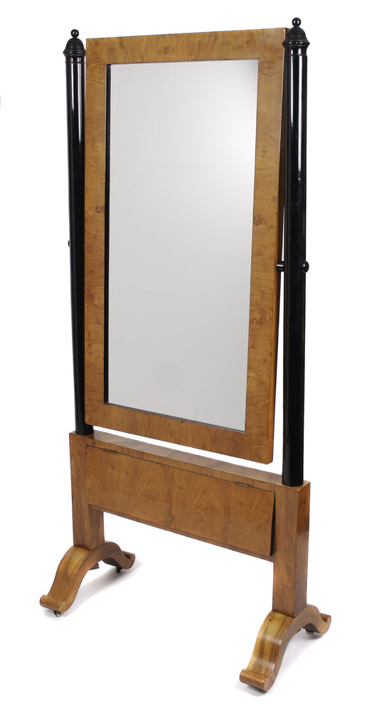 <b>AUSTRIAN BIEDERMEIER DRESSING MIRROR</b><br>MID 19th CENTURY</br>
