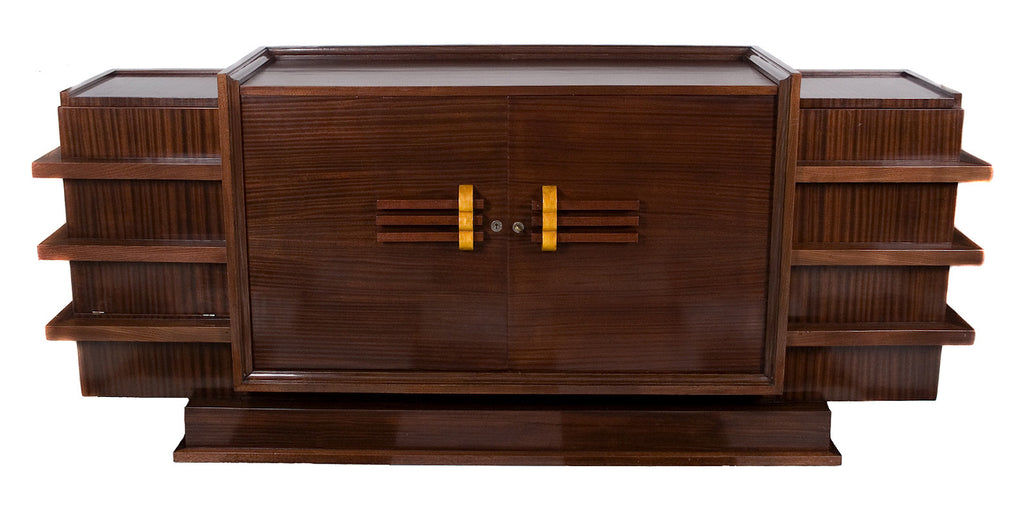 <B>FRENCH ART DECO ROSEWOOD BUFFET</B><BR>CIRCA 1939</BR>