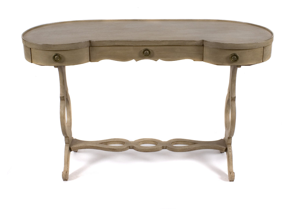 <b>DESK IN THE STYLE OF MAISON JANSEN</b><br>CIRCA 1940s</br>