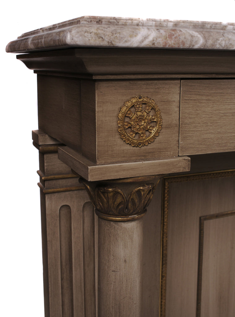 <b>FRENCH EMPIRE STYLE CONSOLE</b><br> CIRCA 1940s</br>
