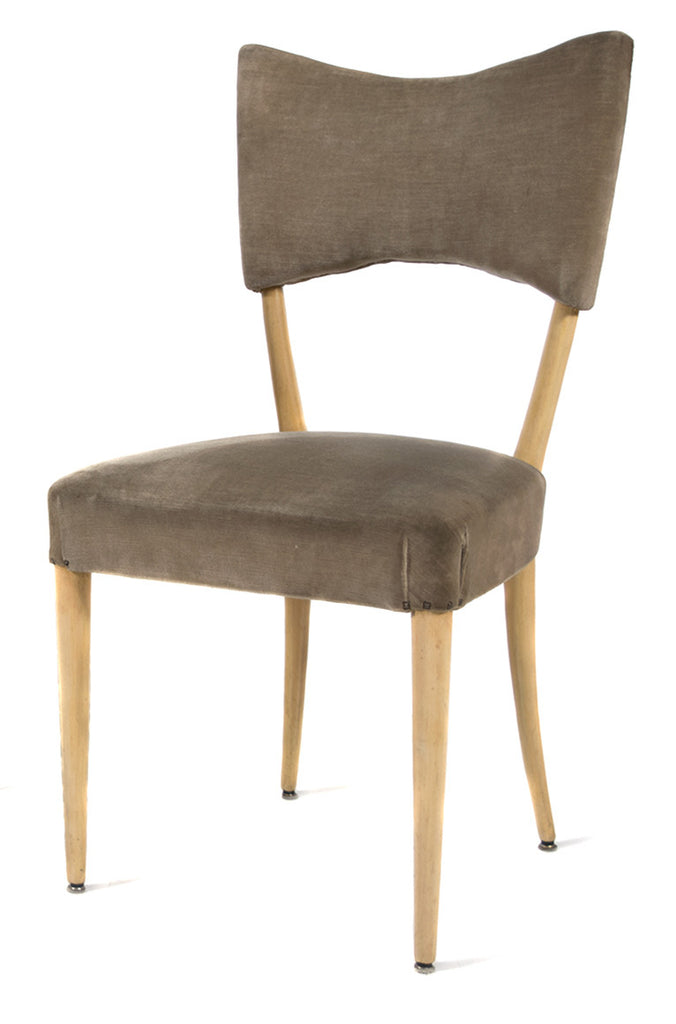 <b>PAOLO BUFFA</b><br>SET OF 8 DINING CHAIRS, CIRCA 1940s</br>EN SUITE WITH TABLE