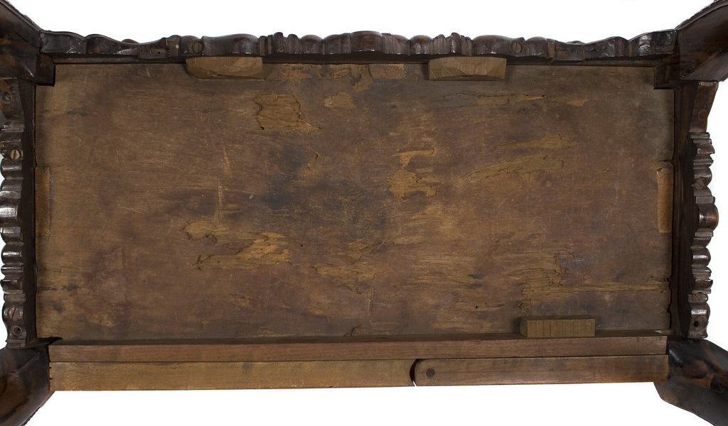 <B>ENGLISH GAME TABLE</B><BR> MID 18TH CENTURY</BR>