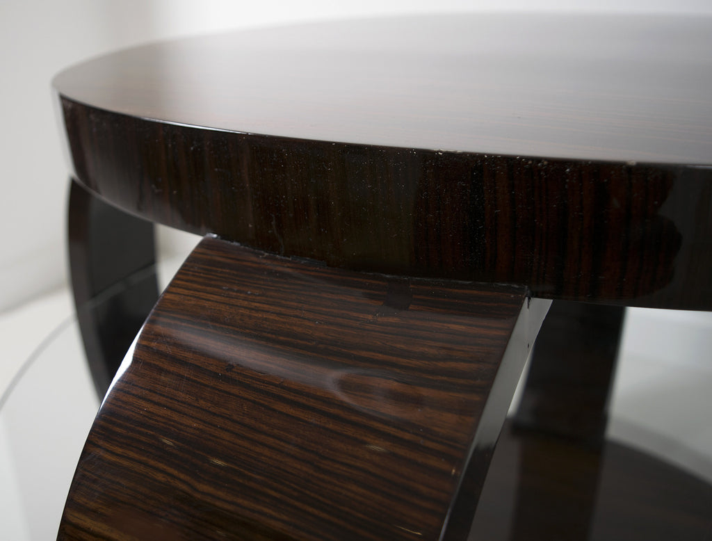 <b> FRENCH ART DECO COFFEE TABLE </b><br> CIRCA 1930's</br>