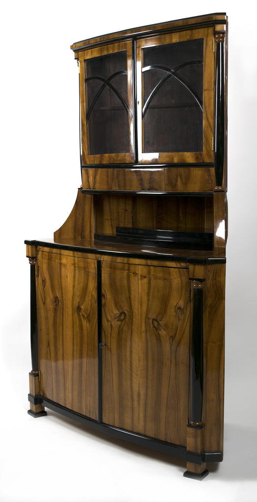 <b>AUSTRIAN BIEDERMEIER CORNER CABINET</b><br>EARLY 19TH CENTURY</br>