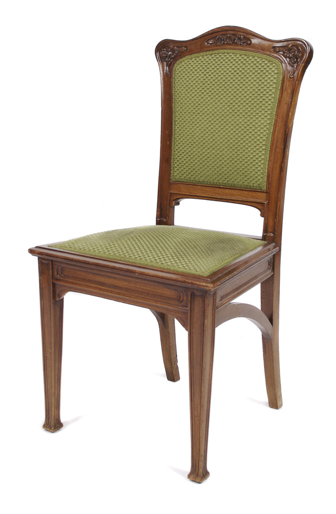 <b>LOUIS MAJORELLE</b><br>SET OF 6 DINING CHAIRS, CIRCA 1912</br> EN SUITE WITH TABLE