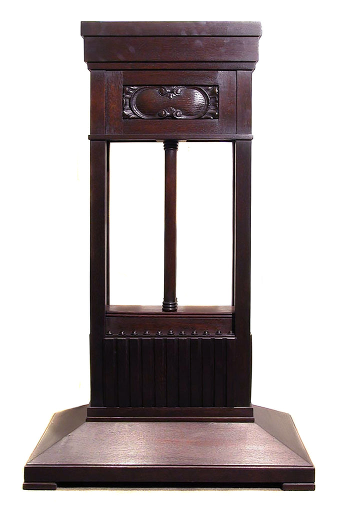 <b>AUSTRIAN WOODEN STAND WITH DECORATIVE PANEL</b><br>CIRCA 1900s</br>