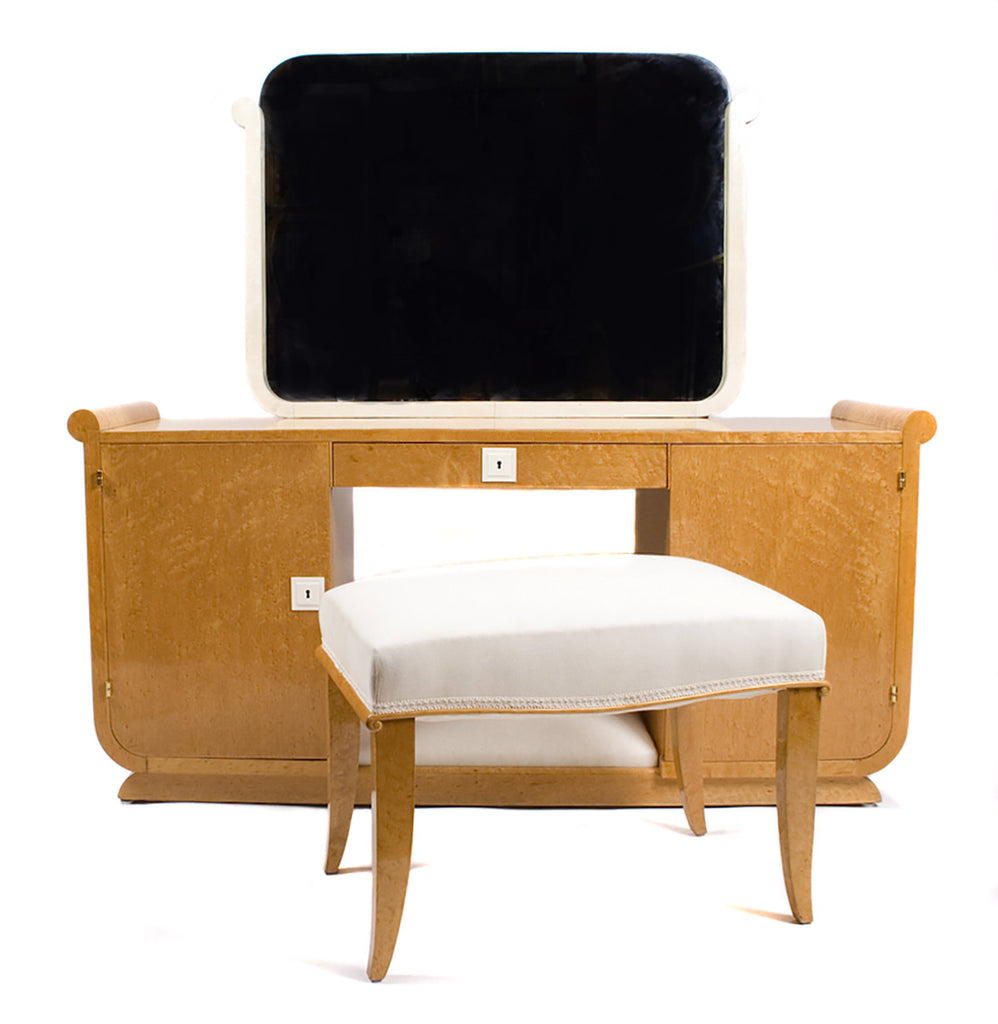 <B>FRENCH ART DECO VANITY SET</B><BR> CIRCA 1930s</BR>