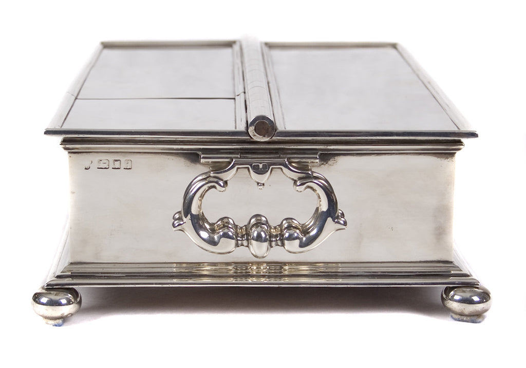 <b>CHARLES & RICHARD COMYNS</b><br> TREASURY INKSTAND, CIRCA 1924</br>