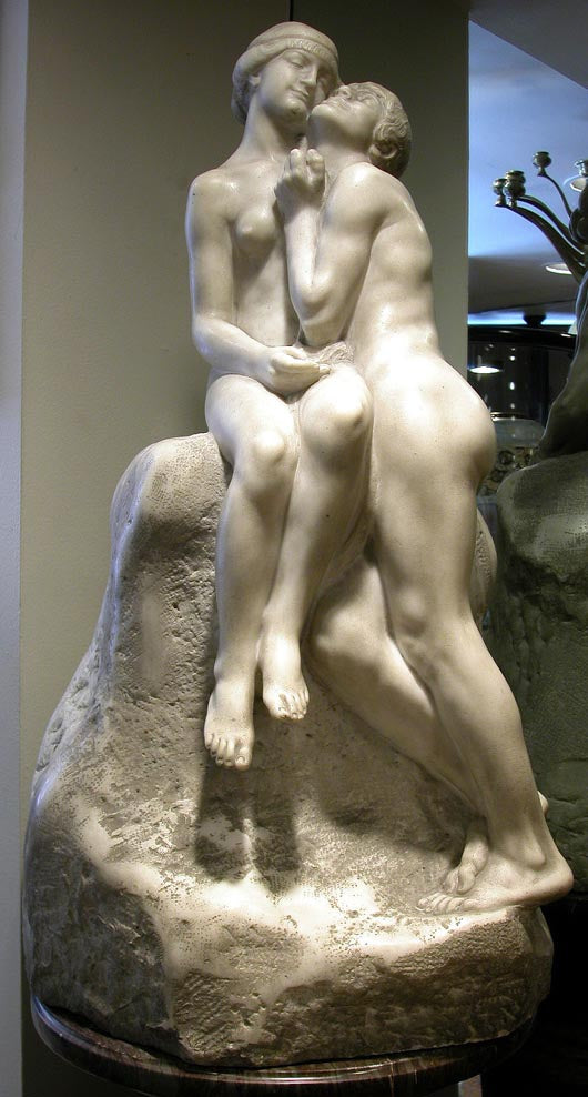 <b> BLONDAT, MAX</b></br>TWO NUDES EMBRACING, CIRCA 20TH CENTURY</br>
