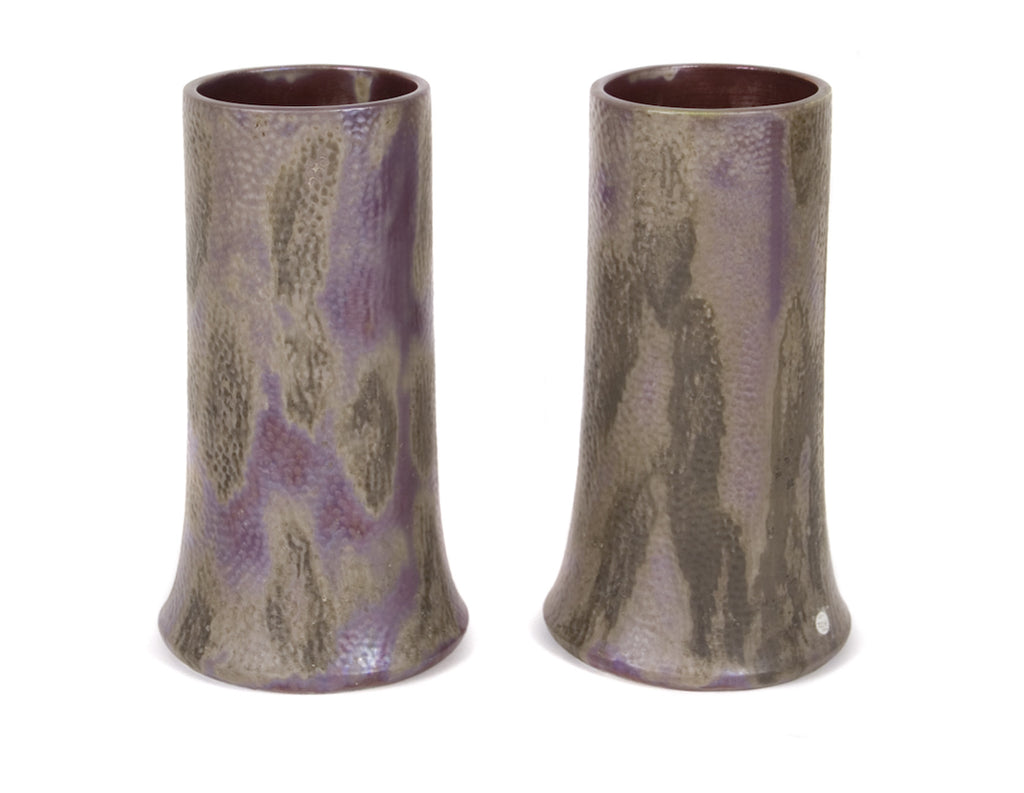 <b>FRENCH MANUFACTURER</b><br>PAIR OF CERAMIC VASES, CIRCA 1900</br>