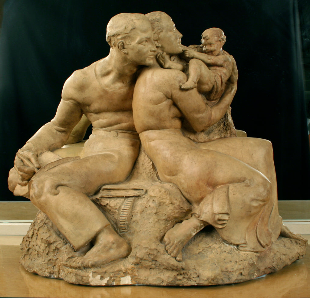 <b>WPA ERA </b><br>TERRA COTTA SCULPTURE, CIRCA 1930s</br>
