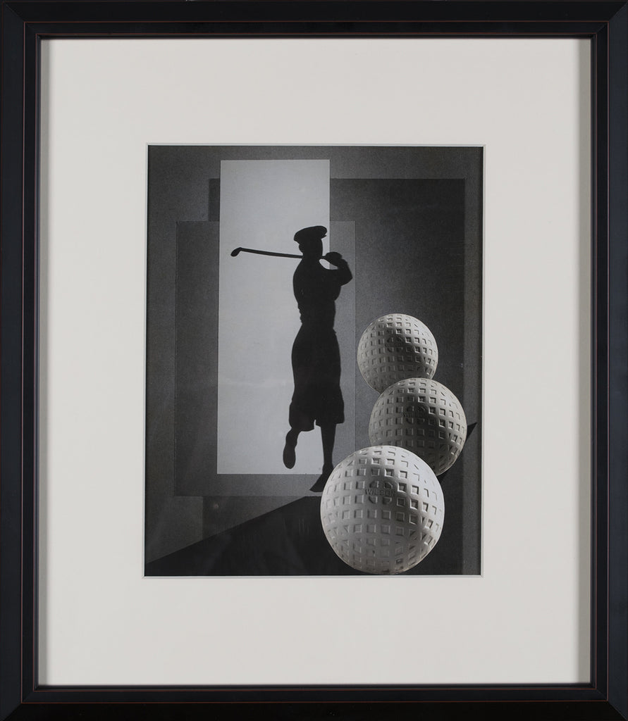 <b>ESTHER BROUILLETTE</b><br> GOLFER (WITH 3 GOLFBALLS), CIRCA 1930s</br>
