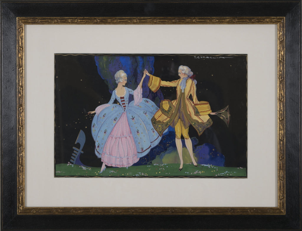<b>TITO CORBELLA</b><br> COUPLE DANCING, CIRCA 1920s</br>