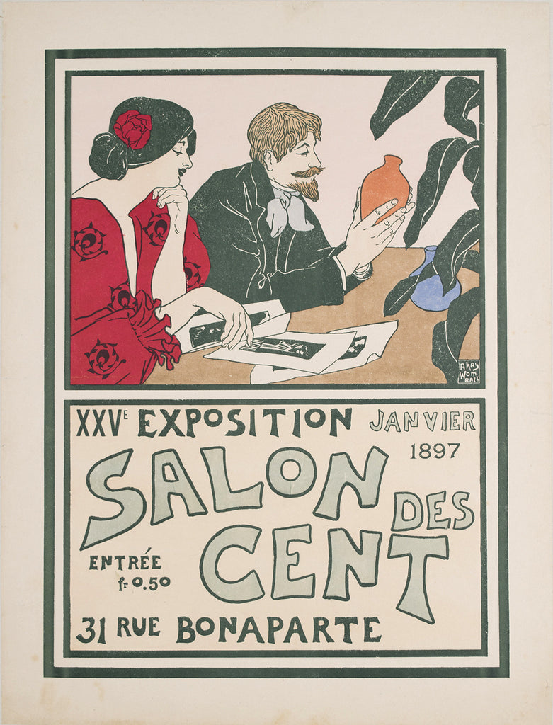 <b> ANDREW KAY WOMRATH</b><br> SALON DES CENT, 1897</br>