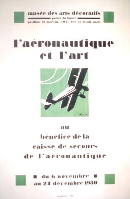 <b>W. FRESSINET</b><br> L'AERONAUTIQUE ET L'ART, CIRCA 1930</br>