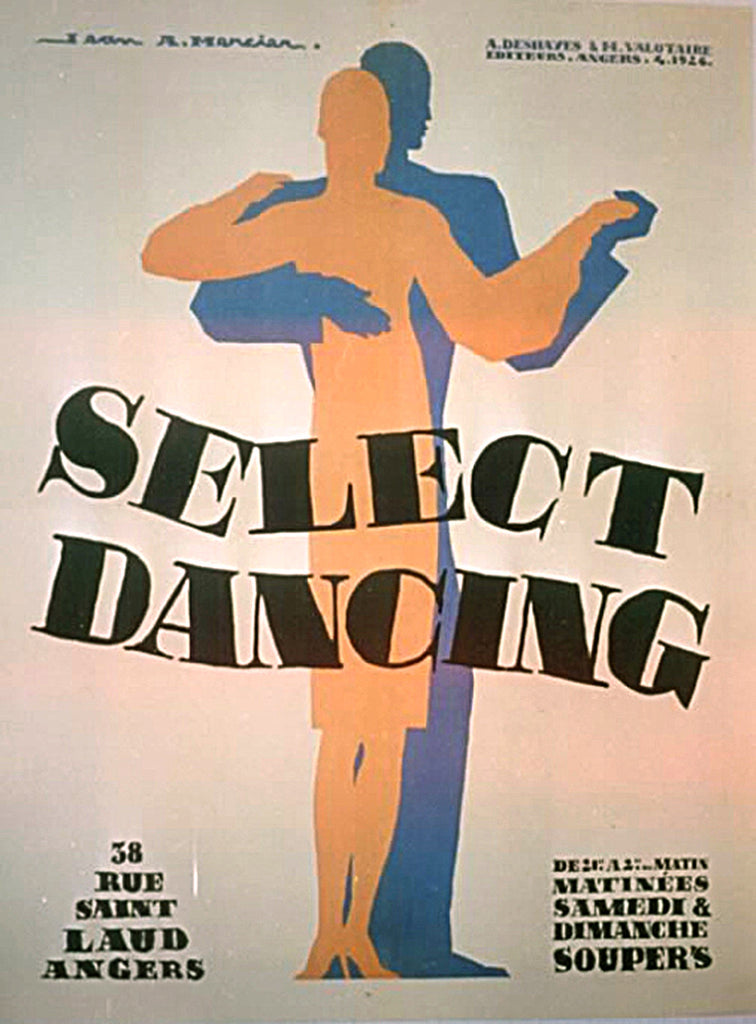 <b> JEAN MERCIER</b><br> SELECT DANCING, CIRCA 1926 </br>