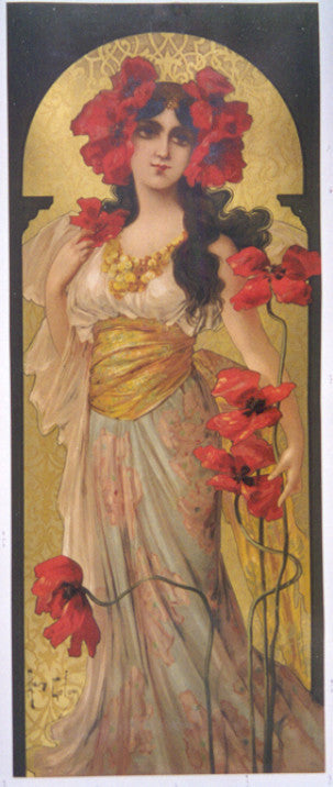 <b>MARY GOLAY </b><br> IRIS SEDUCTION, CIRCA 1900 </br>
