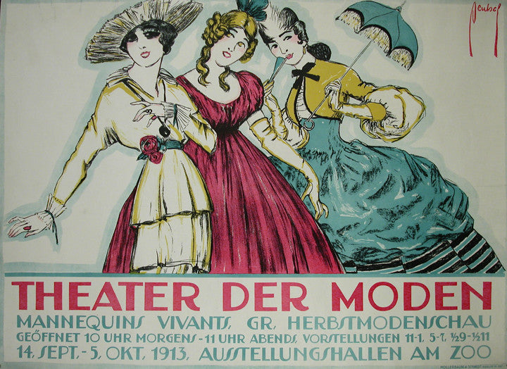 <b>ERNST DEUTSCH</b><br> THEATER DER MODEN, CIRCA 1913</br>