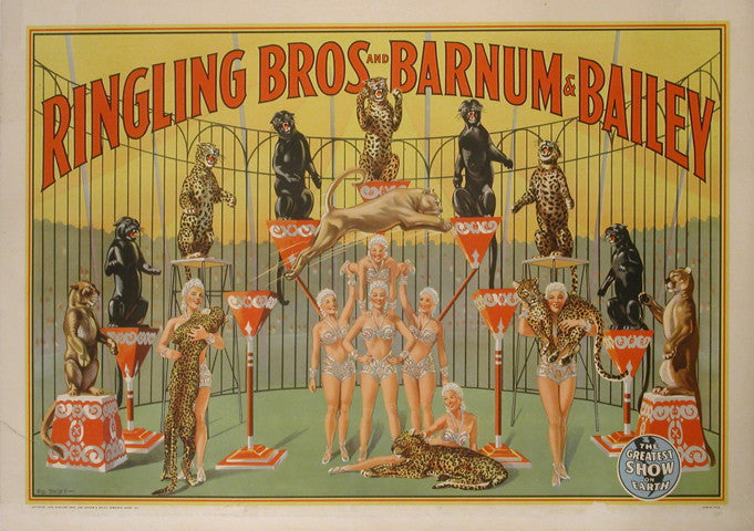 <b>BILL BAILEY</b><br>RINGLING BROS. AND BARNUM & BAILEY, CIRCA 1945</br>