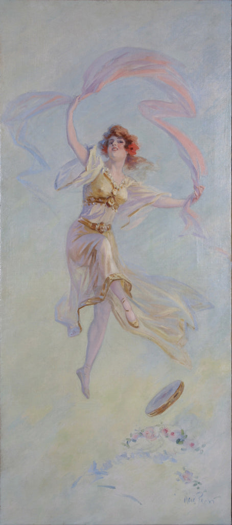 <b>RENE PEAN</b><br> DANCER WITH TAMBOURINE, CIRCA 1890s</br>