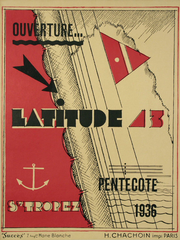 <b>GEORGES-HENRI PINGUSSON</b><br>OUVERTURE LATITUDE 43, CIRCA 1936</br>