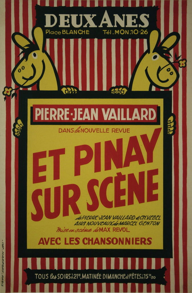 <b>FRENCH POSTER</b><br>ET PINAY SURE SCENE, CIRCA 1950</br>