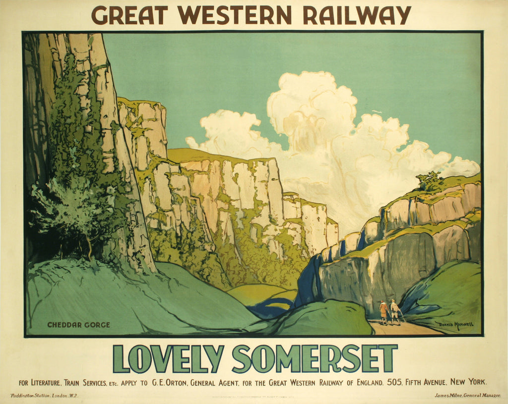 <b>DONALD MAXWELL</b><br> LOVELY SOMERSET, CIRCA 1930</br>