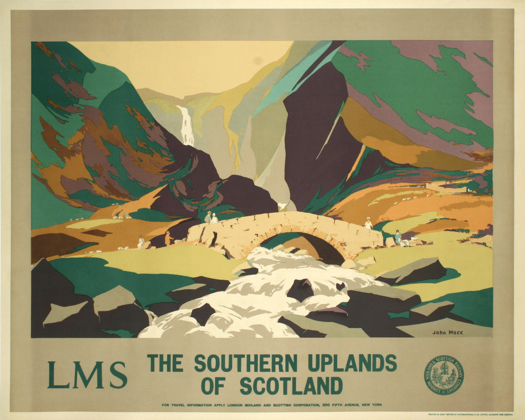 <b>JOHN MACE</b><br>THE SOUTHERN UPLANDS OF SCOTLAND, CIRCA 1930</br>