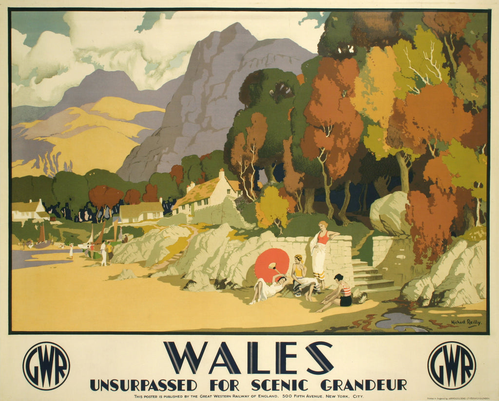 <b>MICHAEL REILLY</b><br> WALES, CIRCA 1930</br>