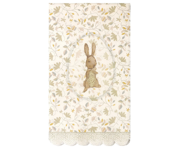 Maileg Romantic Bunny servettisetti
