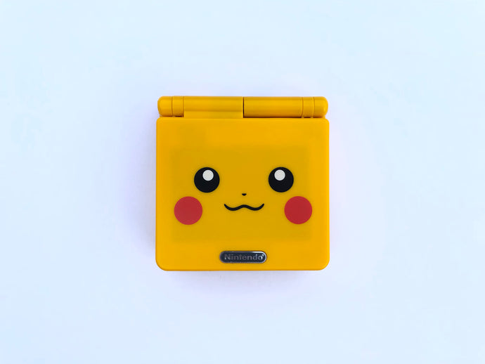 Gameboy Advance SP (AGS 101) / Pikachu Yellow