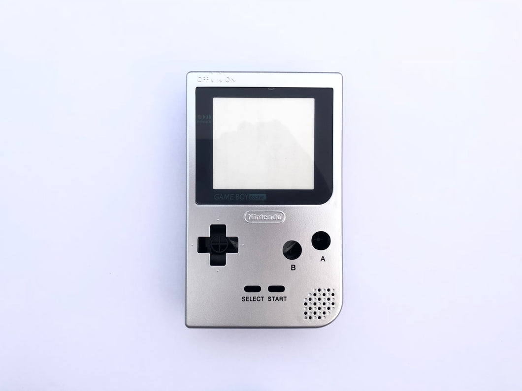 Gameboy Pocket Console / Silver