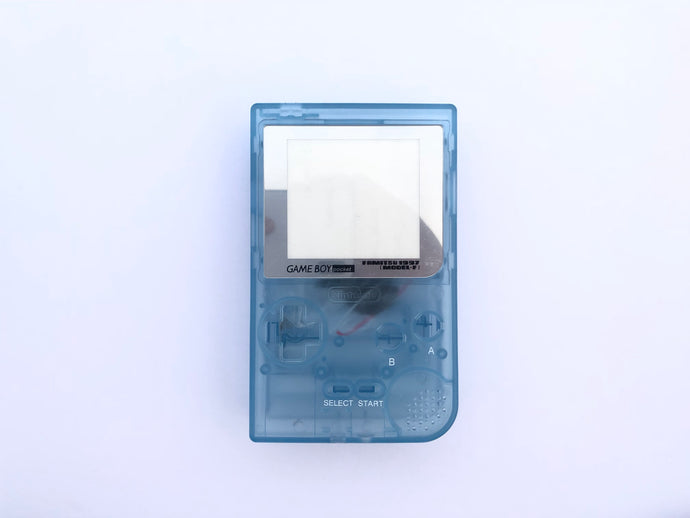 Gameboy Pocket Console / Light Clear Blue