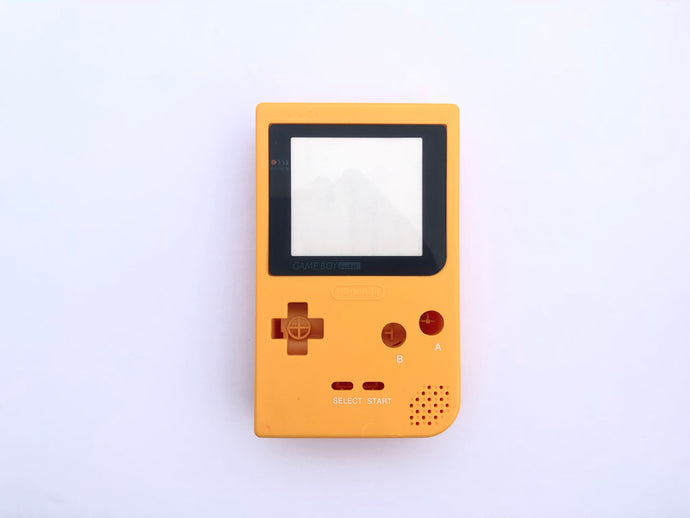 Gameboy Pocket Console / Yellow
