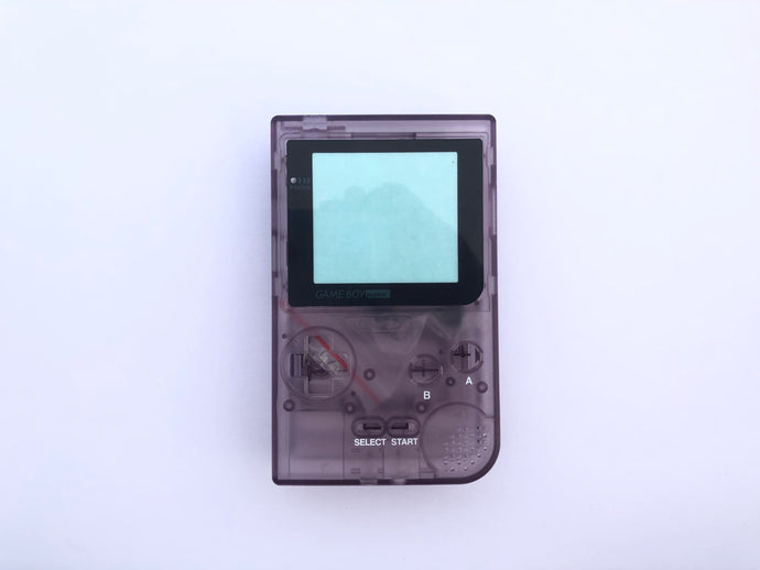 Gameboy Pocket Console / Clear Purple