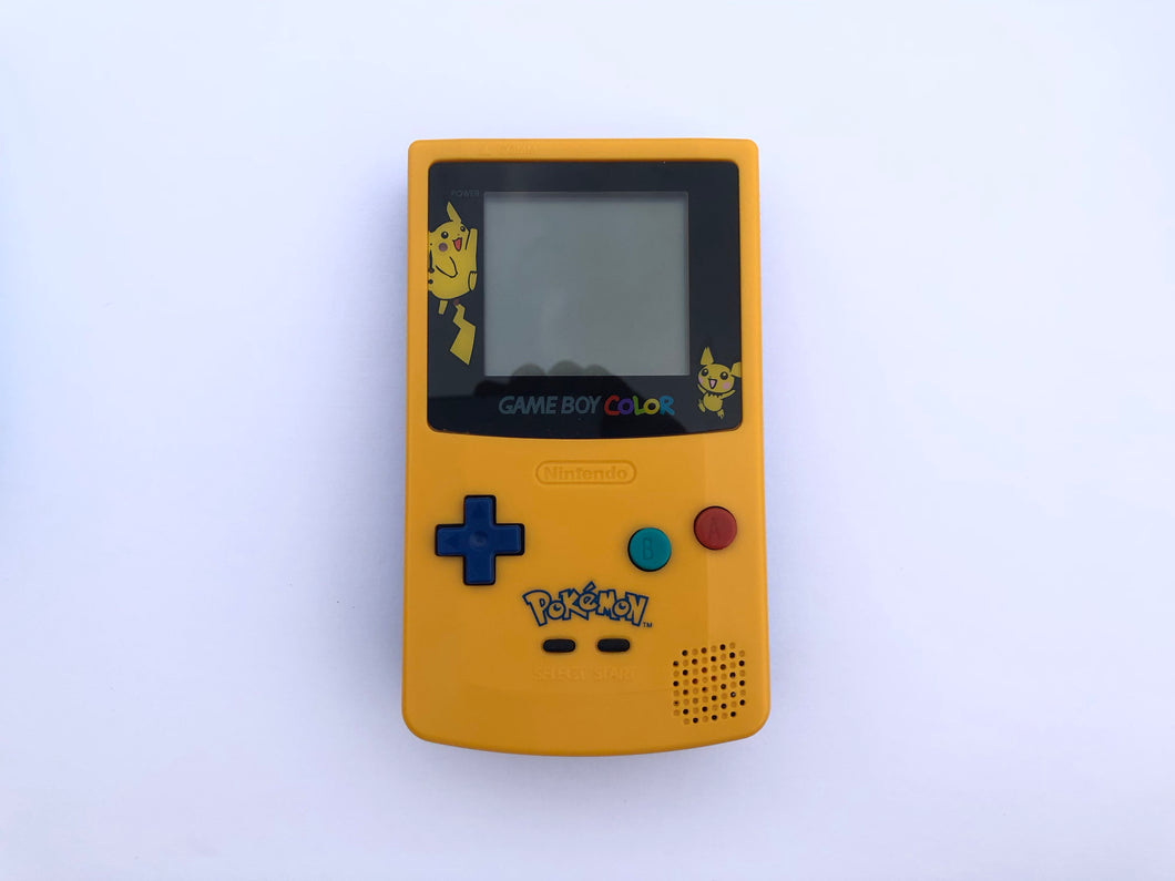 GameBoy Color (Front-Light Mod) / Pokemon Edition