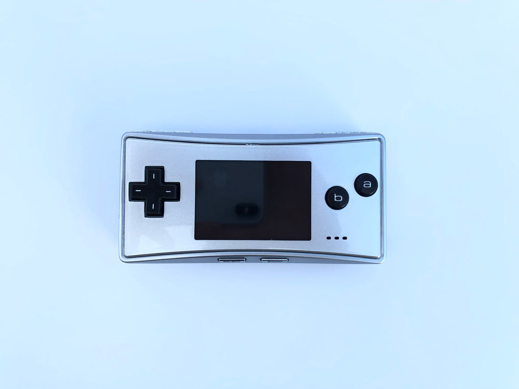 Gameboy Micro / Default Silver
