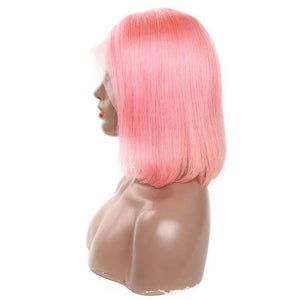 Blonde Color Glue less Transparent Lace Wigs