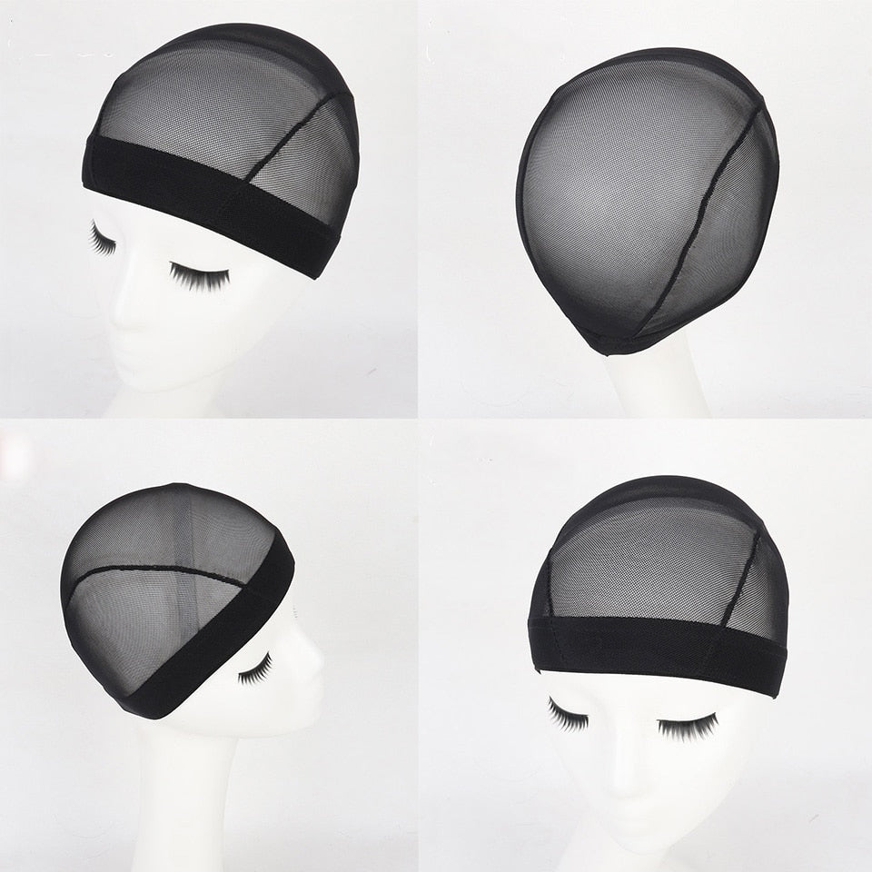 Soft Hairnets 5Pcs/Lot Mesh Cap For Wig Caps For Making Wigs Glueless Hair Net Wig Liner Send A Gift