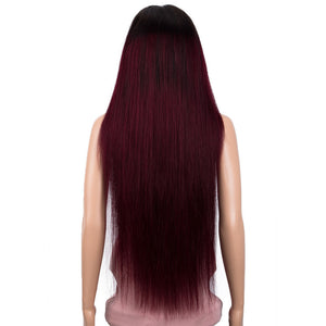 30 Inch Straight Lace Front Human Hair Wigs Pre Plucked 13X4 Lace Frontal Wig Brazilian Remy Humain Hair Wigs For Women