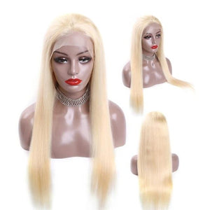 Platinum Pre Plucked Blonde Bleached Knots Wigs