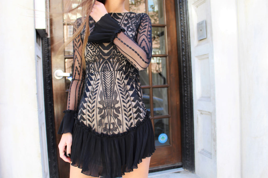 Bianca Long Sleeve Dress