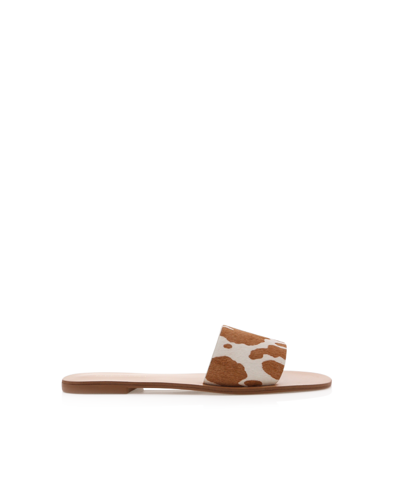 Tyler Tan Cow Slides