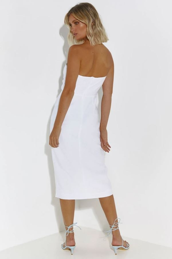 White Villa Dress