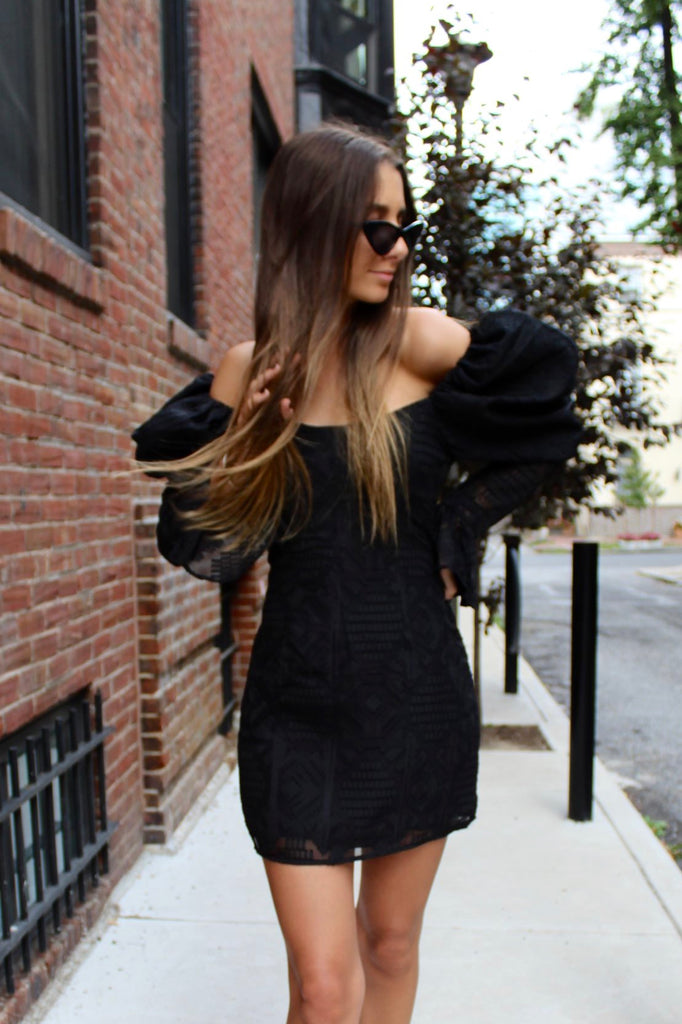 Black Pumped Up Dress