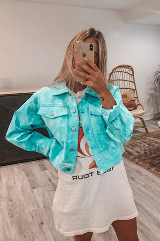 Aquamarine Denim Jacket