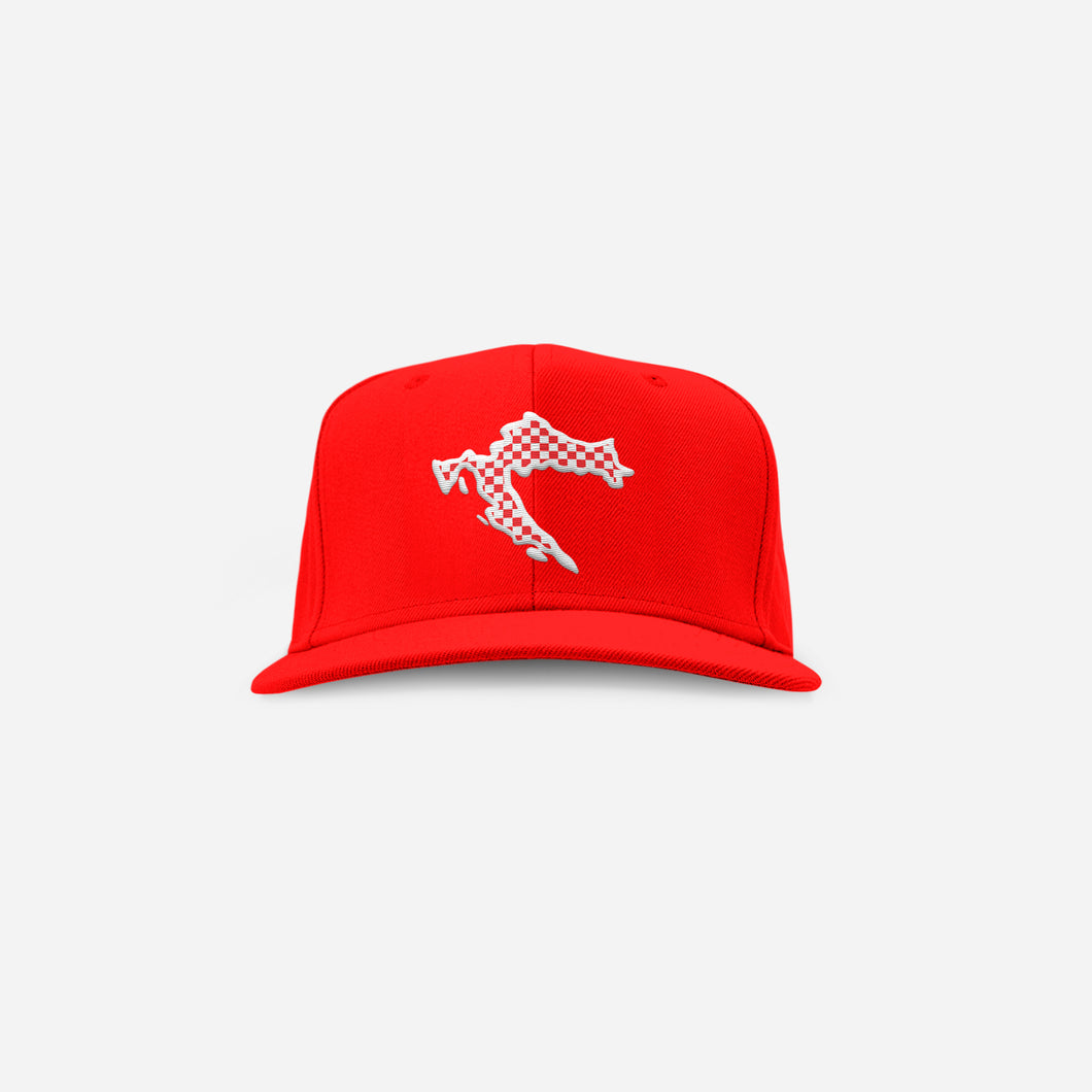 CroWorld Cap - Red Snapback