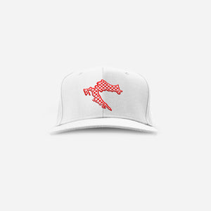 CroWorld Cap - White Snapback